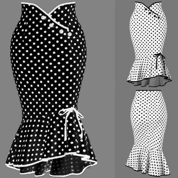 button, Summer, Fashion, polka dot