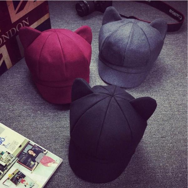Newsboy Caps, Fashion, octagonalcat, Winter