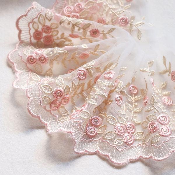 lace trim, Flowers, Lace, gold