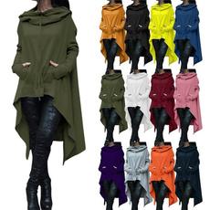Plus Size, Long Sleeve, Coat, Sweaters