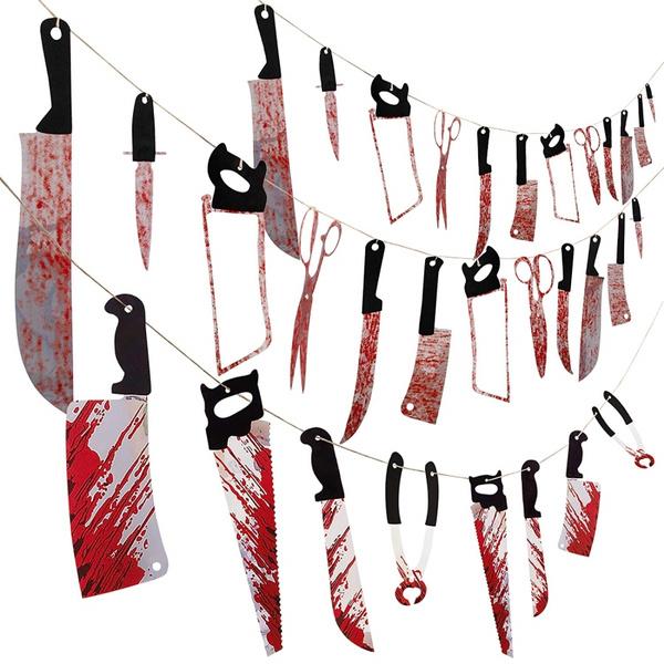 bloodyweapon, Garland, partydecor, Tool