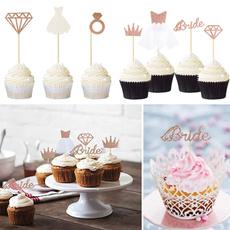 party, DIAMOND, cupcake, Joyería