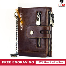 engraving, leather wallet, Fashion, rfidwallet