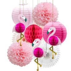 pink, Summer, flamingo, Hawaiian