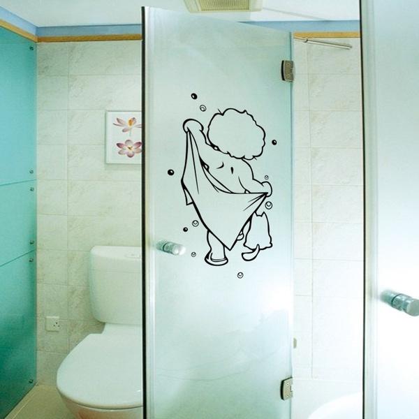 wallstickersampmural, Decor, bathroomsticker, Home Decor