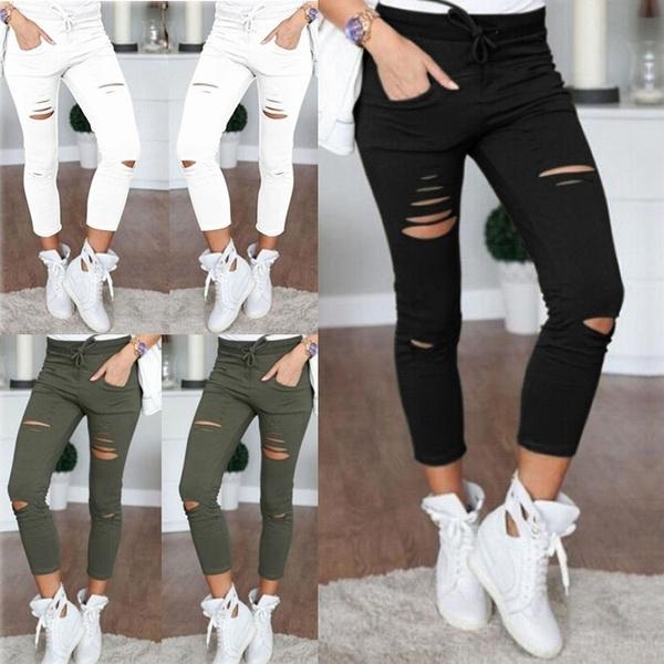 drawstringpant, pencil, Leggings, Fashion