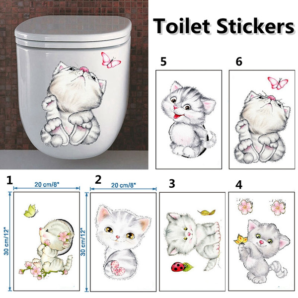 cute, Home Decor, wcsticker, Waterproof