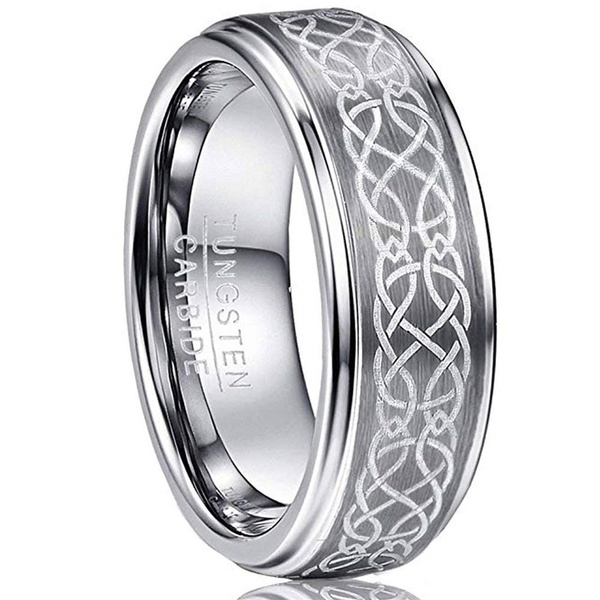 ringsformen, Fashion Accessory, 8MM, polished