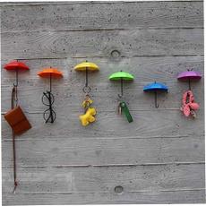 Keys, wallhanger, Umbrella, Colorful