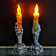 Night Light, candlelamp, Halloween, Lighting