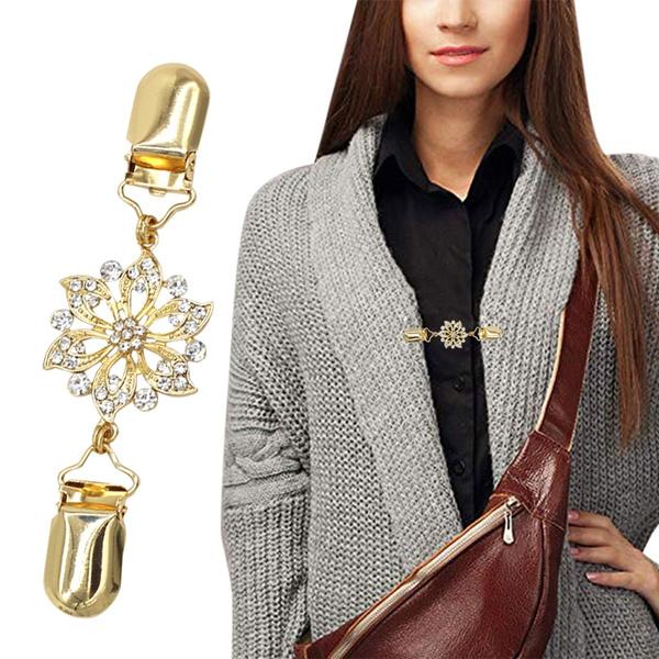 blouse, scarvessweaterclip, sweaterclip, Fashion