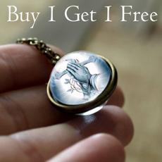 doublesidenecklace, buy 1 get 1 free, friendshipnecklace, Cross necklace