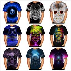 Fashion, skullprint, fashion3dtshirt, skulltshirt