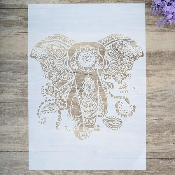 Decorative, stencil, scrapbookingphoto, Paper