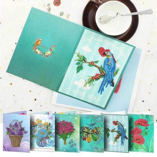 DIAMOND, Gifts, greetingcards5dpainting, diamondpainting
