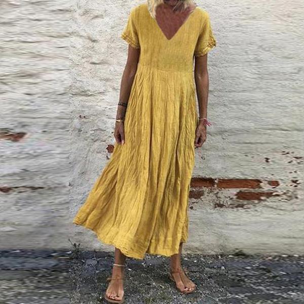 damenkleid, plaincolordres, highwaistdres, Evening Dress
