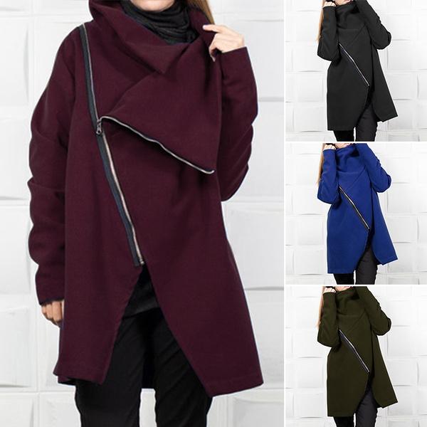 casual coat, Fashion, womenmanteau, Women Hoodie