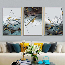 Decor, art, Home Decor, abstractline