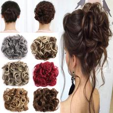 curlyponytailextension, wavecurlyhair, hairbun, Belleza