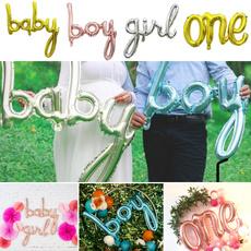 firstbirthday, Shower, Baby Girl, largesizeballoon