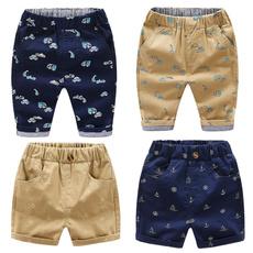 Blues, Summer, boyspant, elastic waist