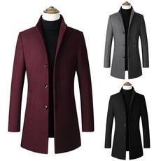 Casual Jackets, Fleece, trenchcoatformen, Coat