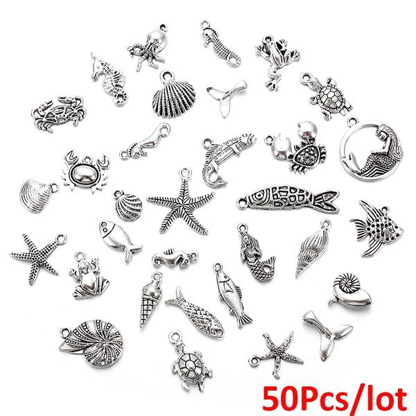 seaanimal, Antique, Jewelry, fish