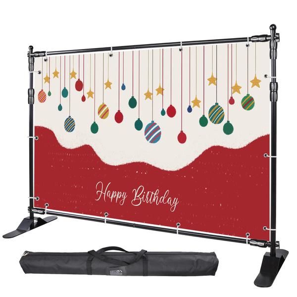 tradeshowdisplaybackdropstand, adjustablebackgroundstand, photobackdropstand, 10ftphotographybackdropstand