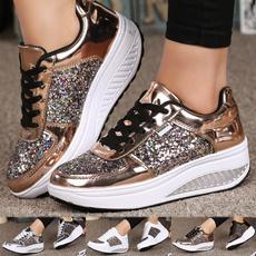 non-slip, casual shoes, shakeshoe, Platform Shoes