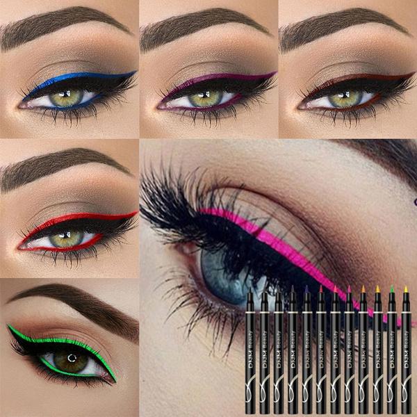 coloreyelinerpen, Makeup, waterproofeyelinerpen, Beauty