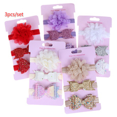 babygirlflowerhairband, babyheadband, Elastic, babyheadbandsflower