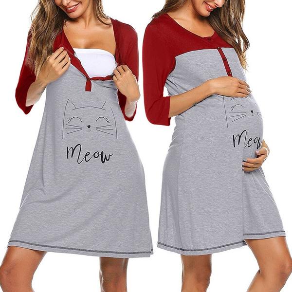 breastfeeding, Maternity Dresses, nursing, Sleeve