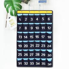 numbered, calculatorsholder, 30pocket, classroompocket