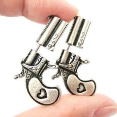 Jewelry, pricingearring, pistol, Silver Earrings