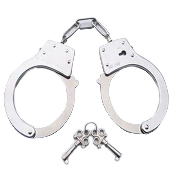 halloweenroleplaysuit, Toy, handcuffswith2key, metalhandcuff