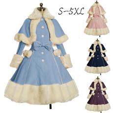 fur coat, GOTHIC DRESS, Fashion, gothic lolita