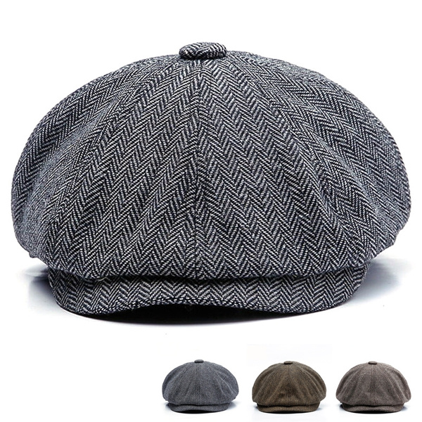Newsboy Caps, Fashion, brown, detectivecap