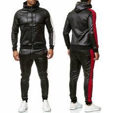 hooded, jogging suit, pants, sweatsuitsformen