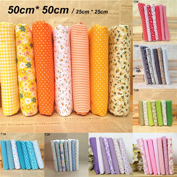 sewingknittingsupplie, Cotton fabric, Flowers, cottoncloth