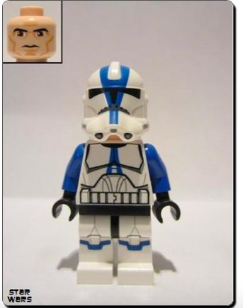 Clone Trooper 501 sw0445 LEGO Star Wars Minifigur