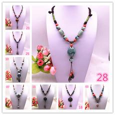 trendy necklace, ceramicsnecklace, Jewelry, Chain