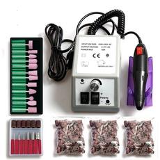 Machine, Nail salon, Manicure Pedicure Set, Electric