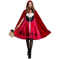 Hood, Cosplay, red hat, Dress