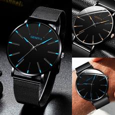 Steel, man's fashion watch, Fashion, Simple