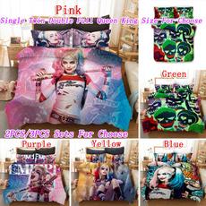 King, twinfullqueenkingsize, bedclothe, harleyquinn
