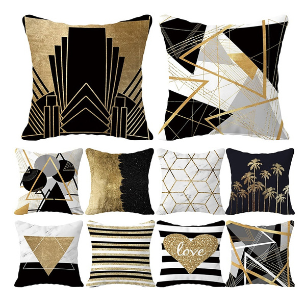 Home & Kitchen, decorativepillowcase, Geometric, Home & Living