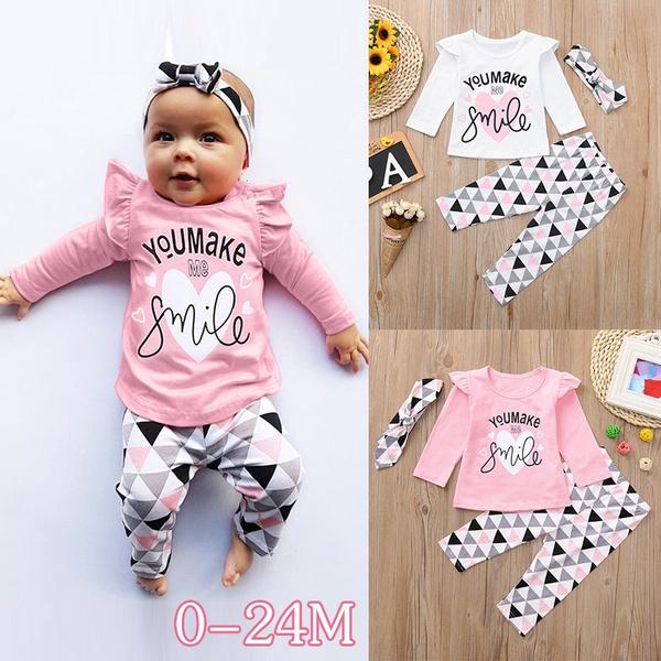 topspantsset, Baby Girl, Fashion, babygirloutfit