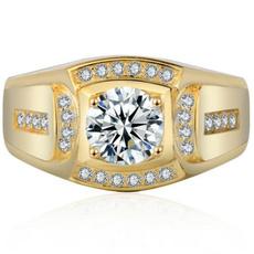yellow gold, DIAMOND, wedding ring, Gifts