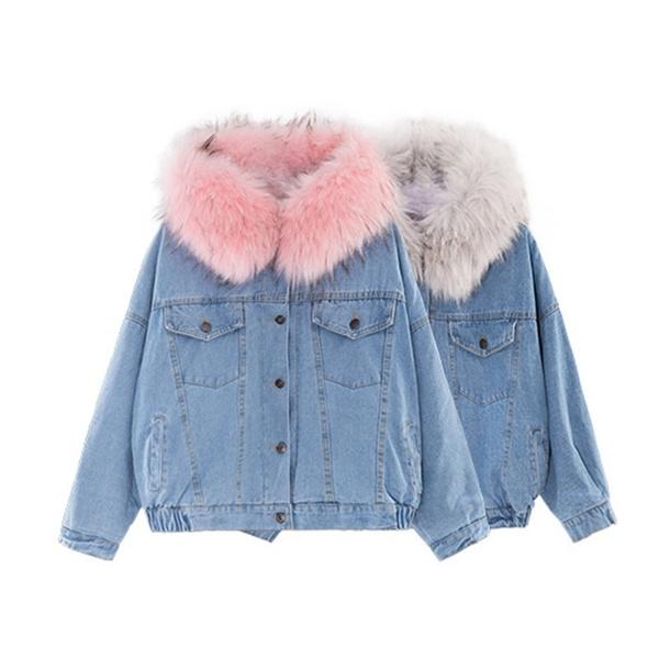 Fashion, women coat, fleecejacket, denim jacket