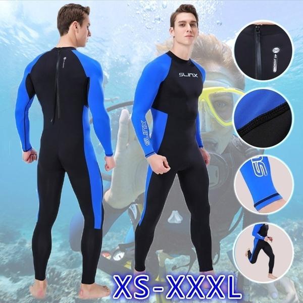 Plus Size, sunscreenjumpsuit, Men, snorkelingdivingclothe
